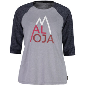 Maloja LüsaiM. 3/4 Sleeve All Mountain Jersey Damen grey melange